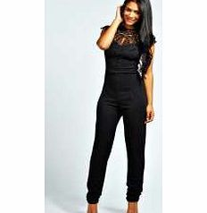 boohoo Beth Caged Neck Sleeveless Jumpsuit - black We're loving longer-line dressing for day and it doesn't get better than a denim dungaree . Acid wash or bleached, buckle up over a basic tee and you'll have borrowed from the boyfriend in the bag. Fo http://www.comparestoreprices.co.uk//boohoo-beth-caged-neck-sleeveless-jumpsuit--black.asp
