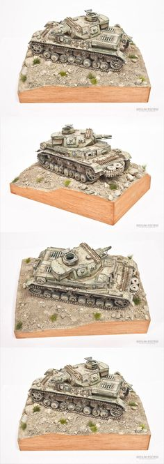 Panzer IV Dak -Nordafrica 1:35 by Dragon