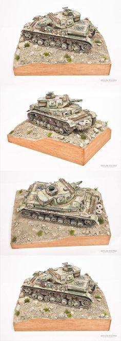 Panzer IV Dak -Nordafrica 1:35 by Dragon
