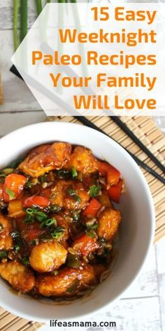 15 Easy Weeknight Paleo Recipes Your Family Will Love