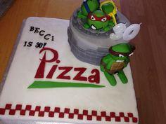 TMNT 30th Birthday cake