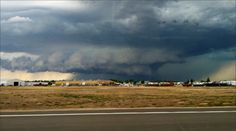 storm clouds in Boise area ... Thursday 9/05/13