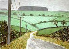 David Hockney Watercolors