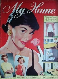 My Home magazine from May 1958