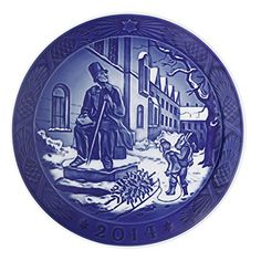 Royal Copenhagen Christmas Plate 2014  Hans Christian Andersen *** Want additional info? Click on the image.