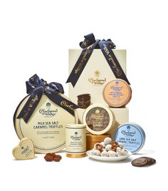 Charbonnel et Walker Sea Salt Hamper | Harrods.com Sea Salt Caramel, Luxury Chocolate