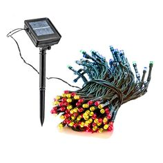 solar powered christmas lights outdoor