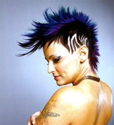 How To Pravana Vivids Mohawk Undercut #hairstyles, #haircuts, #hair, #pinsland, https://apps.facebook.com/yangutu