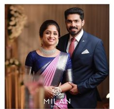 Christian Bridal Saree, Indian Bridal Sarees, Saree Blouse Patterns, Stylish Sarees, Elegant Saree, Milan Design, Couple Outfits, Saree Dress, Saree Styles