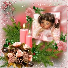 ~*~pink christmas decoration!~*~ - imikimi.com