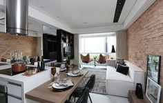 A arquiteta Silvia Aguiar desenvolveu um projeto urbano, bem no clima dos lofts…