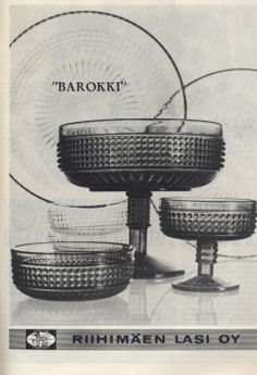 1966 Tom Of Finland, Vintage Glassware, Glass Design, Scandinavian Design, Mid-century Modern, Glass Art, Kitchen Design, Ceramics, Dishes