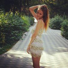 #longhair #choker #dress