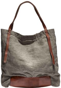 Rissetto - Washed Linen Tote Bag