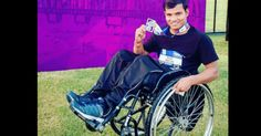 This Wheel-Chair Bound Man Plays Basketball, Trains People And Is A Marathon Runner