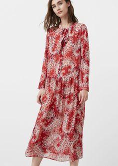 Floral print dress - Dresses for Woman | MANGO India