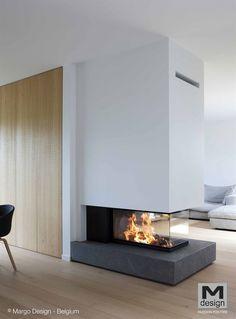 Luna 750 RD Diamond M Design Home contemporary fireplace design