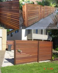Modern horizontal slat fence horizontal fence vs vertical horizontal fence ideas fence ideas horizontal and vertical .