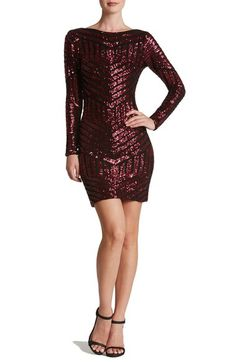 WOW! Dress the Population 'Lola' Sequin Body-Con Dress available at #Nordstrom