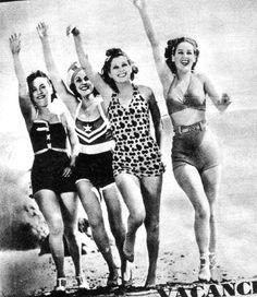 1930s swimsuits...