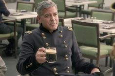 George Clooney's First American Ad for Nespresso Sees Him 'Train' Danny DeVito - Video - Creativity Online Creativity Online, Danny Devito, Training Day, George Clooney, A Decade, Ads, Advertising, Nespresso, Chef Jackets
