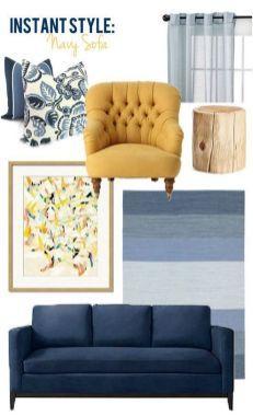 Mustard And Blue Living Room Ideas 60 Inspira Spaces Blue Sofas Living Room Blue And Yellow Living Room Blue Couch Living Room