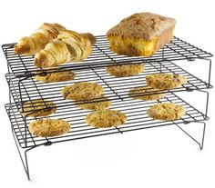 Andrew James Three-Tier Stackable Cooling Rack 39.5cm X 25cm - Can Also Be Used Individually - Great For Space Saving Andrew James http://www.amazon.co.uk/dp/B004PYU0AM/ref=cm_sw_r_pi_dp_IAApub133E3C0