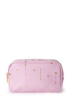 Heart Print Makeup Case | FOREVER21 - 1000097817