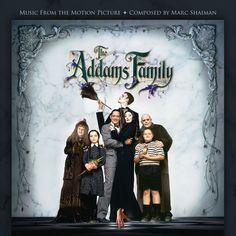 THE ADDAMS FAMILY: LIMITED EDITION Music by Marc Shaiman. Limited Edition of 3000 units.