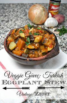 Veggie Güveç: Turkish Eggplant Stew #shop #DinnerDone #CollectiveBias @Diane