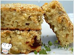 Greek Bread, Greek Pastries, Salty Cake, Greek Recipes, Cupcake Cakes, Cupcakes, Banana Bread, Cooking Recipes, Cooking Ideas