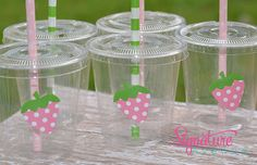 Strawberry Shortcake Birthday Party CupsSet of by SignatureAvenue, $12.40