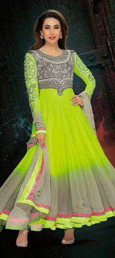 403134: #DualTone #Anarkali #KarismaKapoor #Bollywood #Stylediva #AlwaysADiva #Sale #discount