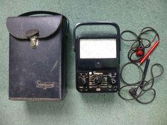 Simpson 260 Series 6P Overload Protected Volt Ohm Milliammeter Multimeter Case #Simpson