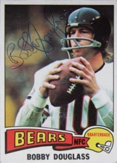 Find the best deal on Bobby Douglass autographed items for your collection of Sports, Football memorabilia. Bears Football, Football Helmets, Football Trading Cards, Football Cards, Baseball Cards, Football Signs, Football Memorabilia, San Diego Chargers
