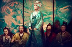 Asian inspired art and illustrations Legend of the Five Rings-Doji Tatsuki