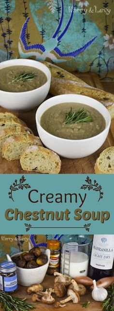 Hearty and Creamy Chestnut Soup - the best comfort food ever