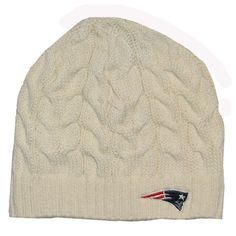 New winter hat  Official New England Patriots ProShop - Ladies Patriots 47  Brand Kincaid Knit Hat abe66629aa6