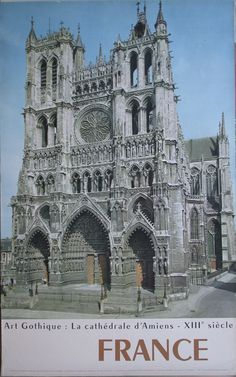 France – La cathedrale d'Amiens