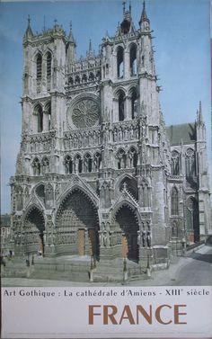 France – La cathedrale d'Amiens