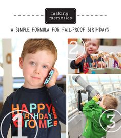 How to make every birthday special for your child...