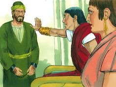 As Paul spoke about righteousness and self-control and the coming day of judgment, Felix became frightened. 'Go away for now,' he replied. 'When it is more convenient, I'll call for you again.' – Slide 9