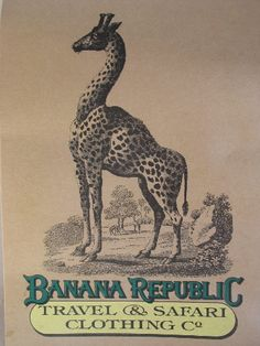remember Banana Republic images, whole company was once all safari clothes