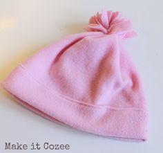 How to Make Fleece Hat in 10 Minutes