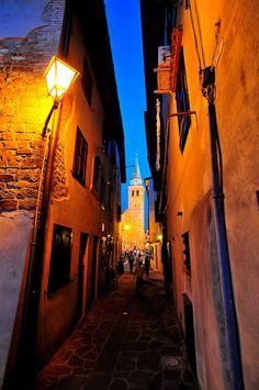 beautiful photo of old town, grado, italy