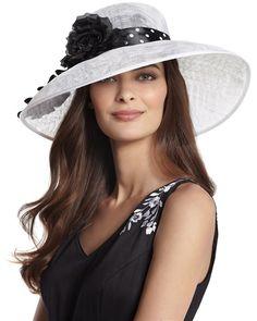 White Spectator Hat