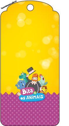 Uau! Veja o que temos para FNF-MUNDO-BITA-2_33 Baby Party, 1st Birthday Parties, Gift Tags, Clip Art, Gifts, Bernardo, Juliana Lima, Lucca, Biscuit