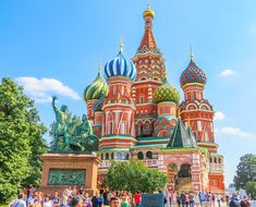 Moscow is a very beautiful, history-rich city. The architecture is nothing short of amazing!! Whether you are here 1 day or 5 days, these are the places to visit in Moscow Russia you don't want to miss! #places #locations #moscow #russia #travel