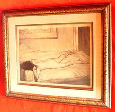 42831 613d $99,999 or best offer - free ship anywhere in the world -Butterfield Artist - listed - framed - may need touch up a