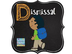 Swimming Into Second: D is for Dismissal (ABCs of 2nd grade)